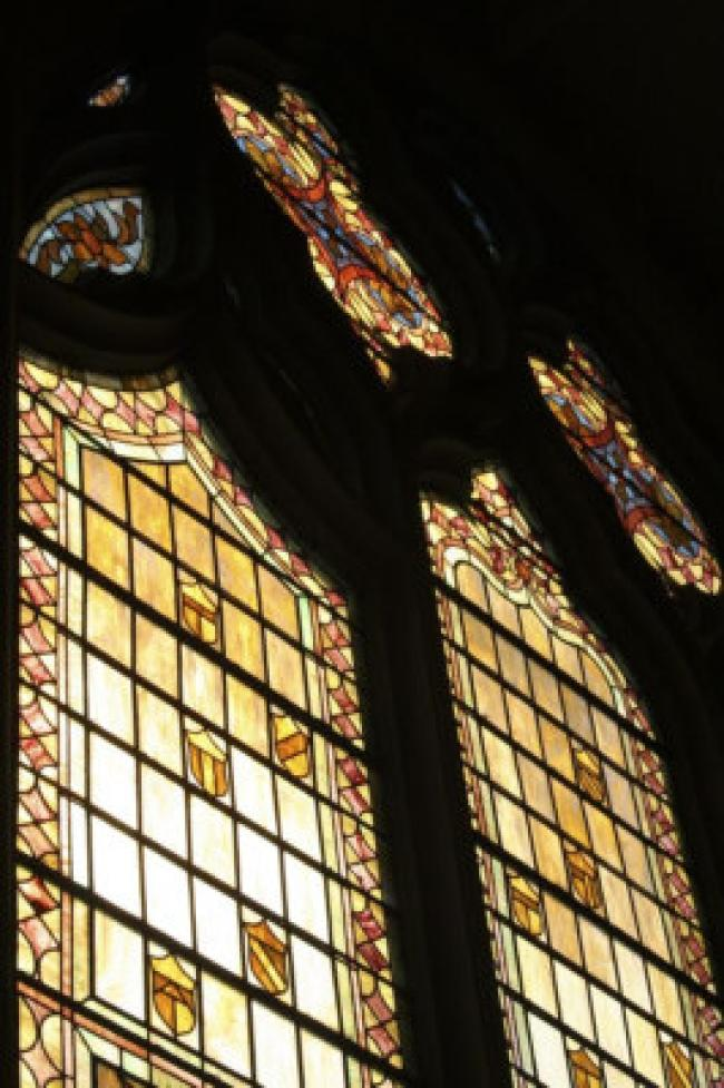 Ascension chapel window